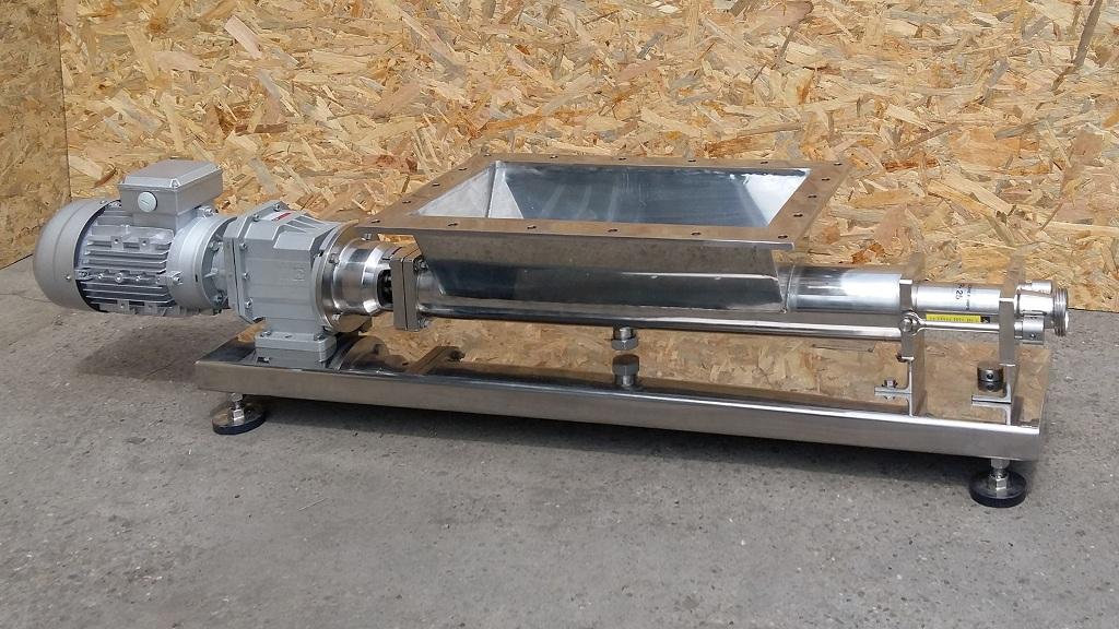 Sanitarni tip zavojne pumpe